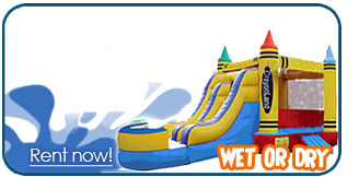 Provo inflatable bounce house slide rentals