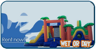 Provo utah inflatable bounce house slide rentals 2 piece