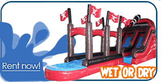 Provo inflatable water slide rentals