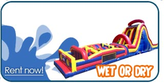 obstacle course rentals inflatable provo
