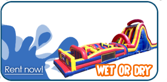 wet obstacle course rentals Provo