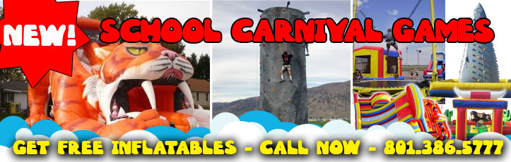 churches and schools free inflatable rentals salt lake city utah