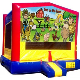 Fun on the Farm Bounce House