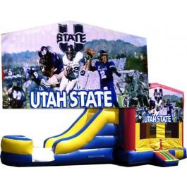 Utah State Bounce Slide combo (Wet or Dry)
