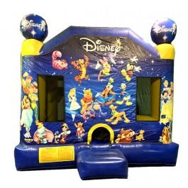Disney Classic Characters 4N1 Bounce Slide combo (Dry)