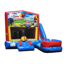 Happy Birthday 7N1 Bounce Slide combo (Wet or Dry)