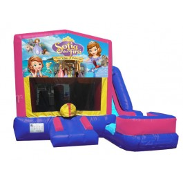Sofia the First 7n1 Bounce Slide combo (Wet or Dry)