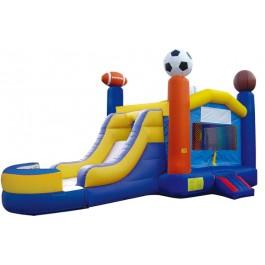 (B) Sports Bounce Slide combo (Wet or Dry)