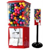 Gumball Vending Machine with 50 tokens & gumballs - Square