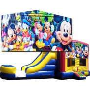 Mickey & Friends Bounce Slide combo (Wet or Dry)