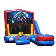 Avengers 7n1 Bounce Slide combo (Wet or Dry)