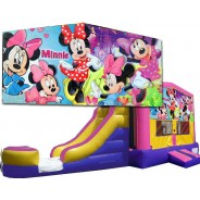 Minnie Mouse Bounce Slide combo (Wet or Dry)