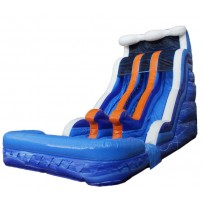 18ft Raging River Dual Lane Wave Wet/Dry Slide