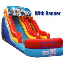 18ft Modular Wave Water Slide