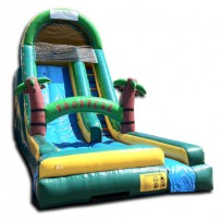 20ft Tropical Wet/Dry Slide