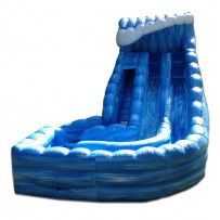 24ft Dual Lane Tower of Terror Wave Wet/Dry Slide