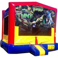 Teenage Mutant Ninja Turtles Bounce House