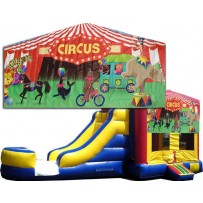 Circus Bounce Slide combo (Wet or Dry)
