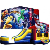 Power Rangers Bounce Slide combo (Wet or Dry)
