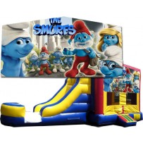 Smurfs Bounce Slide combo (Wet or Dry)