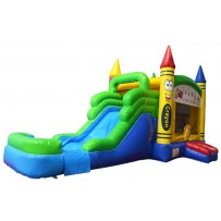 (A1) Crayon Bounce Slide combo (Wet or Dry)