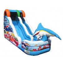18ft Aquatic Playland Wave Wet-Dry Slide