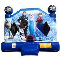 Frozen Bounce House Large
