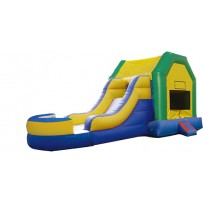 (A) Fun House Bounce Slide combo (Wet or Dry)