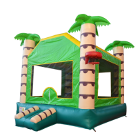 (B) Jungle Bounce House