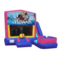 Moana 7N1 Bounce Slide combo (Wet or Dry)