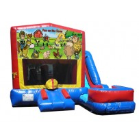 Fun on the Farm 7N1 Bounce Slide combo (Wet or Dry)