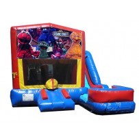 Sesame Street 7N1 Bounce Slide combo (Wet or Dry)