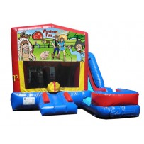 Western Fun 7N1 Bounce Slide combo (Wet or Dry)