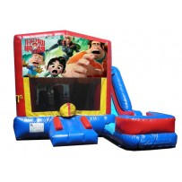 Wreck It Ralph 7n1 Bounce Slide combo (Wet or Dry)