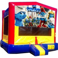 Smurfs Bounce House