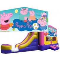 Peppa Pig Bounce Slide combo (Wet or Dry)