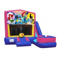 Little Mermaid 7n1 Bounce Slide combo (Wet or Dry)