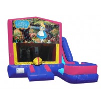 Alice in Wonderland 7n1 Bounce Slide combo (Wet or Dry)