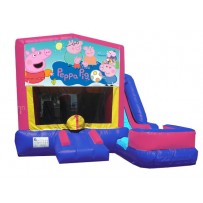 Peppa Pig 7n1 Bounce Slide combo (Wet or Dry)