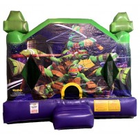 Ninja Turtle Bounce House Large