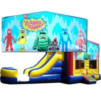 Yo Gabba Gabba Bounce Slide combo (Wet or Dry)