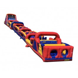 160ft Wet/Dry Collossal Obstacle w/16ft slide