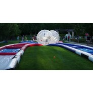 2 Zorb Balls with a Track