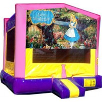 Alice in Wonderland Bounce House