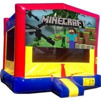 Minecraft Bounce House
