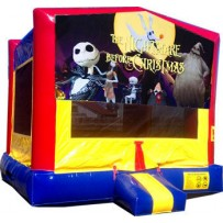Nightmare Before Christmas Bounce House