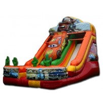 22ft Cars Dry Slide