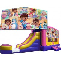 Doc McStuffins Bounce Slide combo (Wet or Dry)