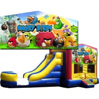 Angry Birds Bounce Slide combo (Wet or Dry)