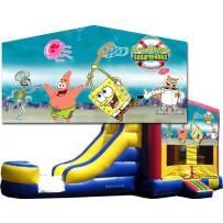 Sponge Bob Bounce Slide combo (Wet or Dry)